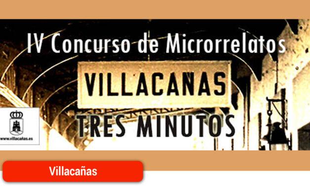 """Convocado el IV Concurso de Microrrelatos """"Villacañas 3 Minutos"""""""