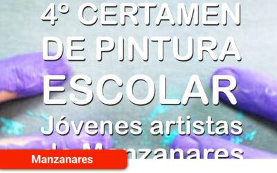 Publicadas las bases del IV certamen de pintura escolar 'Jóvenes artistas de Manzanares'
