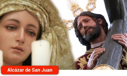 La Hermandad de Nuestro Padre Jesús del Perdón y María Santísima de la Salud realiza su estación de penitencia cada Domingo de Ramos