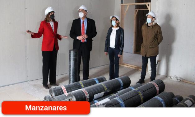 Se instala el aislamiento acústico en la nueva Escuela de Música 'Guillermo Calero'