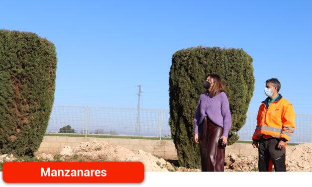 El Ayuntamiento pone en marcha el proyecto de replantación de cipreses para regenerar las zonas verdes del Polígono