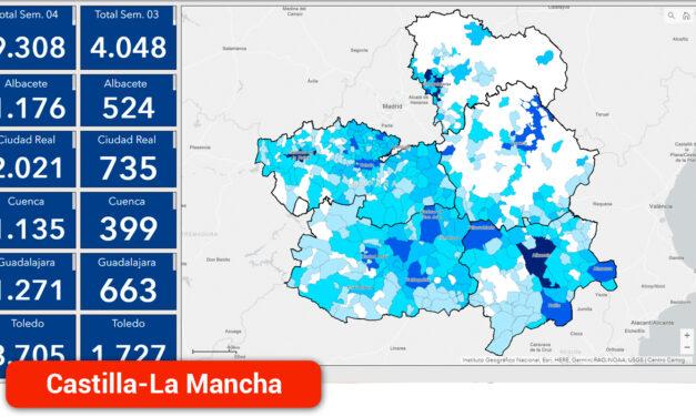 Fuerte reducción de los casos positivos en la última semana en Toledo y Ciudad Real cuando se moderan las restricciones en la región