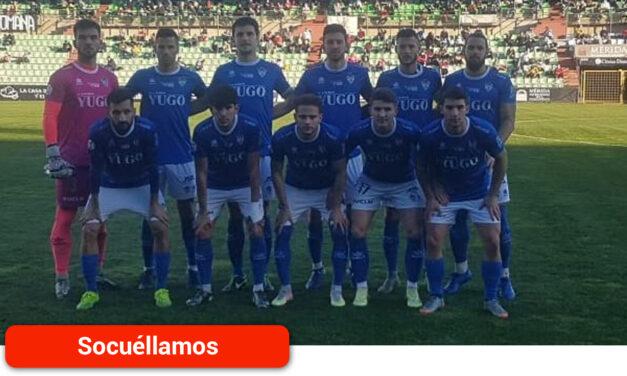 La UD Socuéllamos sufre la derrota por 2 – 0 ante el Mérida AD