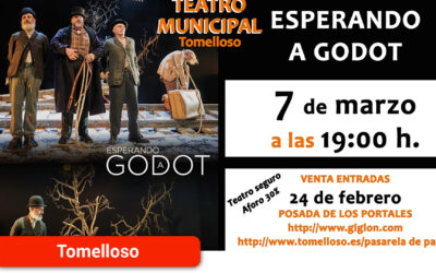 """Cultura reabre el Teatro Municipal con el espectáculo """"Esperando a Godot"""""""