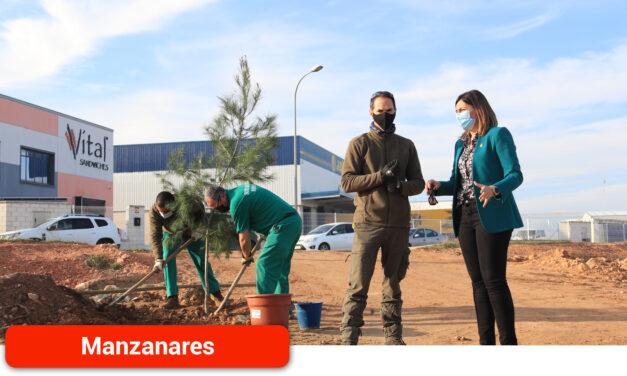 El Ayuntamiento inicia la recuperación de una de las zonas verdes fundamentales del polígono industrial