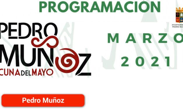 Pedro Muñoz presenta su propuesta socio cultural para marzo