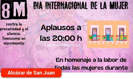 La Asamblea 7N convoca un aplauso a las 20:00 en homenaje a la labor de todas las mujeres durante la pandemia