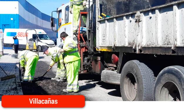 Continúa la campaña de asfaltado de baches y socavones