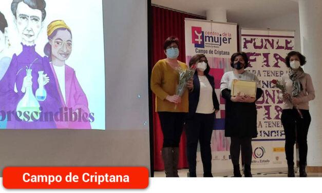 Campo de Criptana rinde homenaje a las mujeres de la localidad en conmemoración del Día de la Mujer