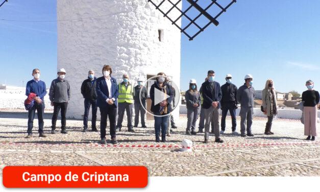 Clausura del Taller de mejora del Cerro de La Paz que ha formado en la reforma del patrimonio a 10 desempleados de la localidad