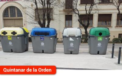 El Ayuntamiento construye una plataforma para contenedores en la Calle Valencia