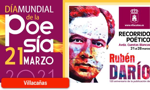 La localidad celebrará el Día Mundial de la Poesía mostrando la «armonía verbal» de Rubén Darío