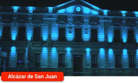 El Ayuntamiento se une a la celebración del Día de Europa iluminando de azul el Ayuntamiento y los Molinos