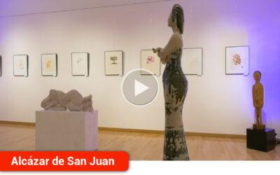 Inauguración de la nueva sala 'Luisa Alberca Lorente' en la Casa de Cultura en reconocimiento a la escritora alcazareña