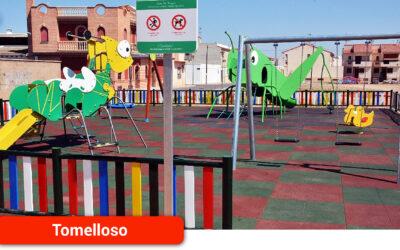 Reapertura de los parques y zonas infantiles de Tomelloso desde hoy lunes