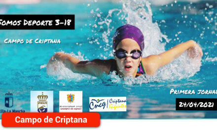 El sábado se disputó, en la piscina climatizada de la localidad, la primera jornada de 'Somos Deporte 3-18'