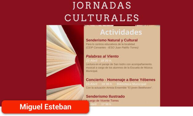 Senderismo, música y lecturas al aire libre centrarán las Jornadas Culturales de la localidad