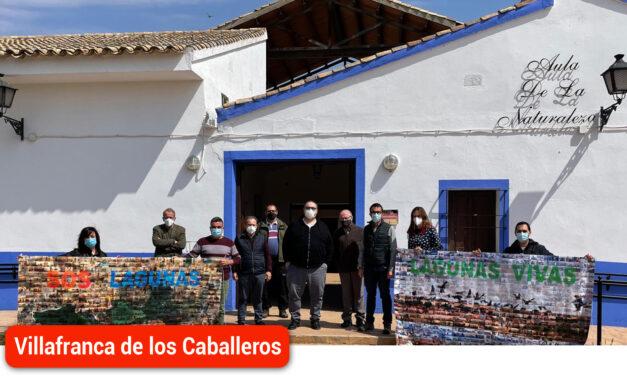 Medio Ambiente se compromete a impulsar la recuperación de las Lagunas de Villafranca y el resto de humedales manchegos