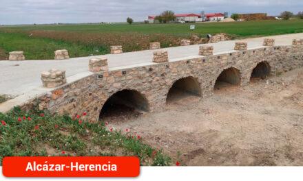 Finalizadas las obras de consolidación del puente de Valdespino