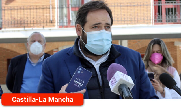 Núñez lamenta que con la Ley de Armonización Fiscal de Page «los castellano-manchegos pagarán más impuestos»