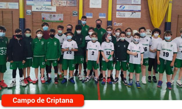 Los equipos de E.B. Criptana disfrutan una semana más del baloncesto