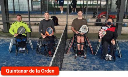 Rubén de Diego queda tercero en el segundo torneo de la liga Wheelchair Pádel Series