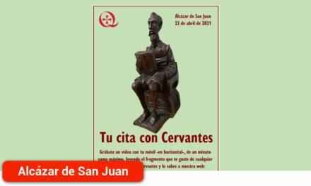 Tu cita con Cervantes