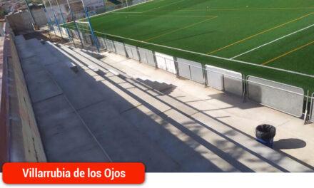 Nuevas gradas para el Campo Municipal de Fútbol
