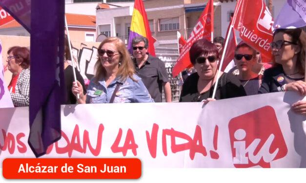 """Izquierda Unida Alcázar """"1º de mayo: Unidad de clase frente al fascismo"""""""