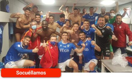 Victoria de la UD Socuéllamos frente al Atlético de Madrid B, tres puntos vitales para la  lucha por la permanencia