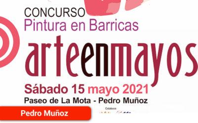 Concurso de pintura en barricas 'Arte en Mayos' este sábado