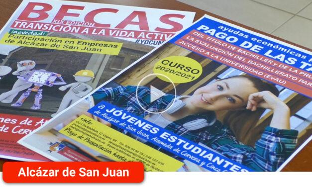 En marcha la I Convocatoria de Becas de Ayuda a la obtención del título de Bachillerato y EvAU para los estudiantes de Alcázar de San Juan, Cinco Casas y Alameda de Cervera