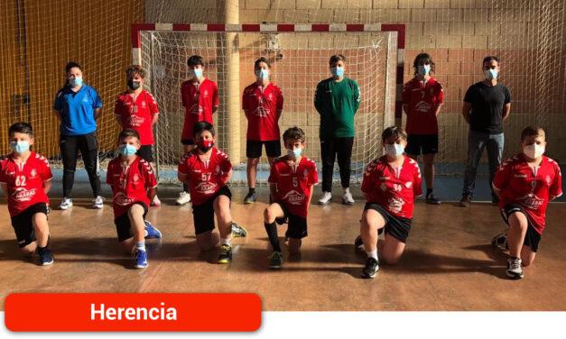 El equipo Infantil Masculino de Balonmano cuarto en el Campeonato Provincial