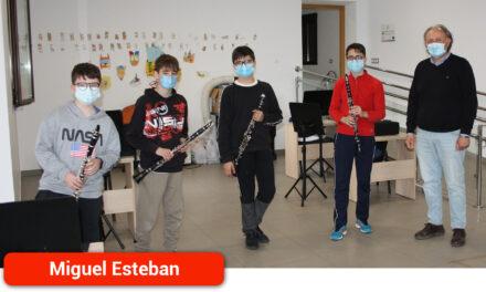 La Escuela Municipal de Música se afianza como cantera de la Banda del municipio