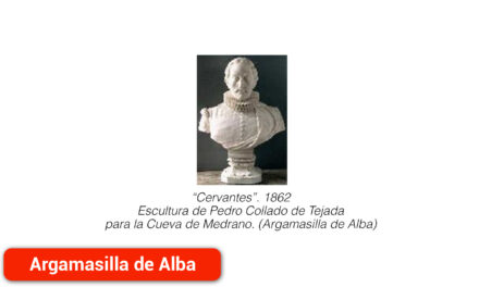 Un busto de Cervantes con historia