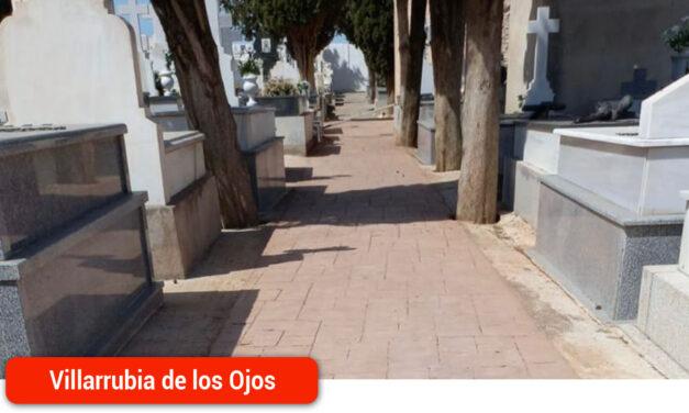 El Ayuntamiento acomete el arreglo de los pasillos más deteriorados del cementerio