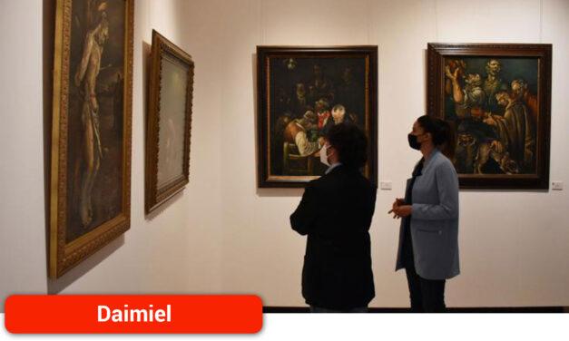 La exposición de obras inéditas de D'Opazo se podrá visitar hasta el 13 de junio