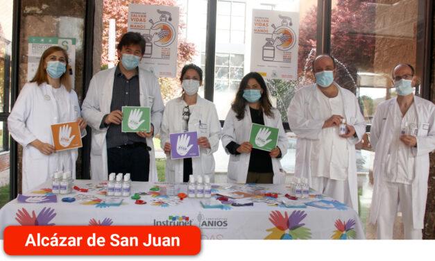 El Hospital Mancha Centro se suma al Día Internacional de la higiene de manos