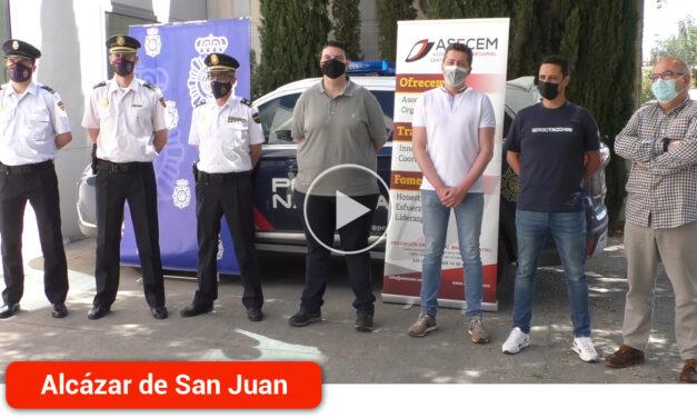 """ASECEM colabora con la Policía Nacional en el plan de prevención """"Comercio Seguro"""""""