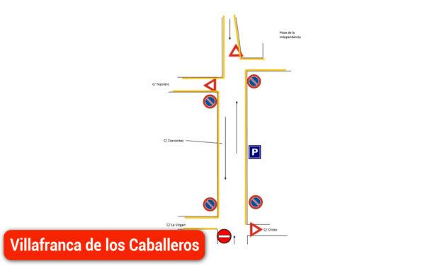 Nueva Señalización de la Calle Cervantes