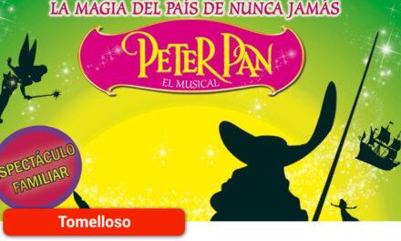 """El parque de la Constitución acogerá el domingo el espectáculo musical infantil """"Peter Pan, la magia del País de Nunca Jamás"""""""