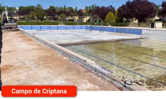En marcha los trabajos de mejora y acondicionamiento de la Piscina Municipal
