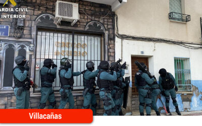 Desarticulada una red criminal dedicada al tráfico de drogas y robos con fuerza en Villacañas