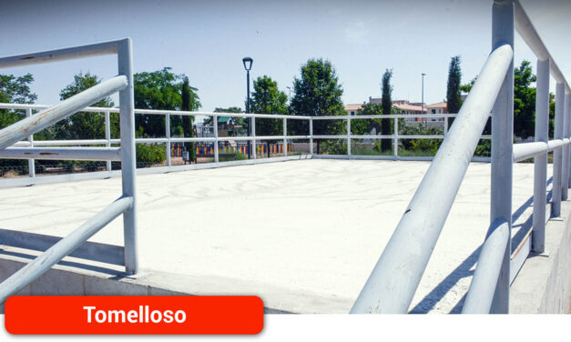 El parque Virgen de las Viñas ya cuenta con un escenario para la realización de actividades