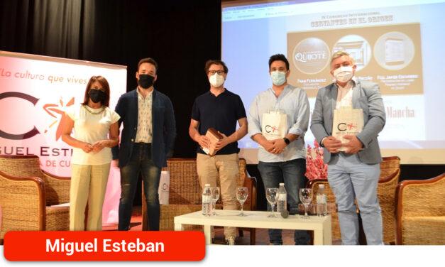 Miguel Esteban pone en valor su patrimonio como preámbulo del IV Congreso Internacional 'Cervantes en el Origen'