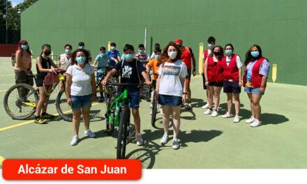 Concluyen las BiciRutas que han llevado a los jóvenes propuestas de fomento del uso de la bici para desplazamientos, colaborando con una ciudad sostenible