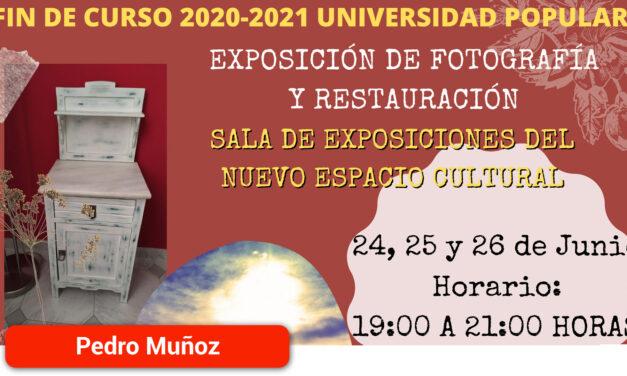 Exposición fin de curso Universidad Popular 2020-2021