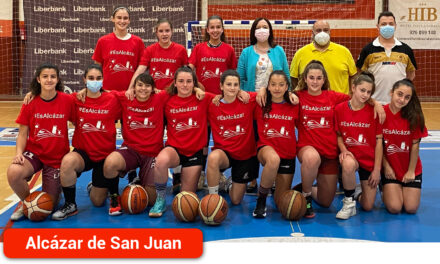 El equipo infantil femenino de baloncesto Grupo 76- Alkasar jugará el Campeonato de España en Galicia durante el fin de semana