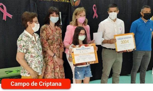 Ángela Muñoz Salcedo ganadora del premio 'The Funny Food Proyect'