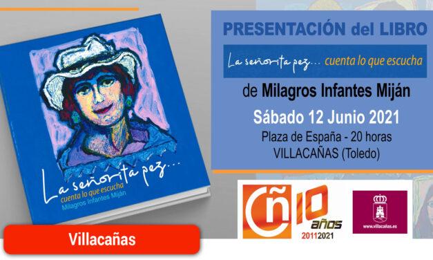 """Milagros Infantes presenta este sábado el libro """"La señorita Pez… cuenta lo que escucha"""""""
